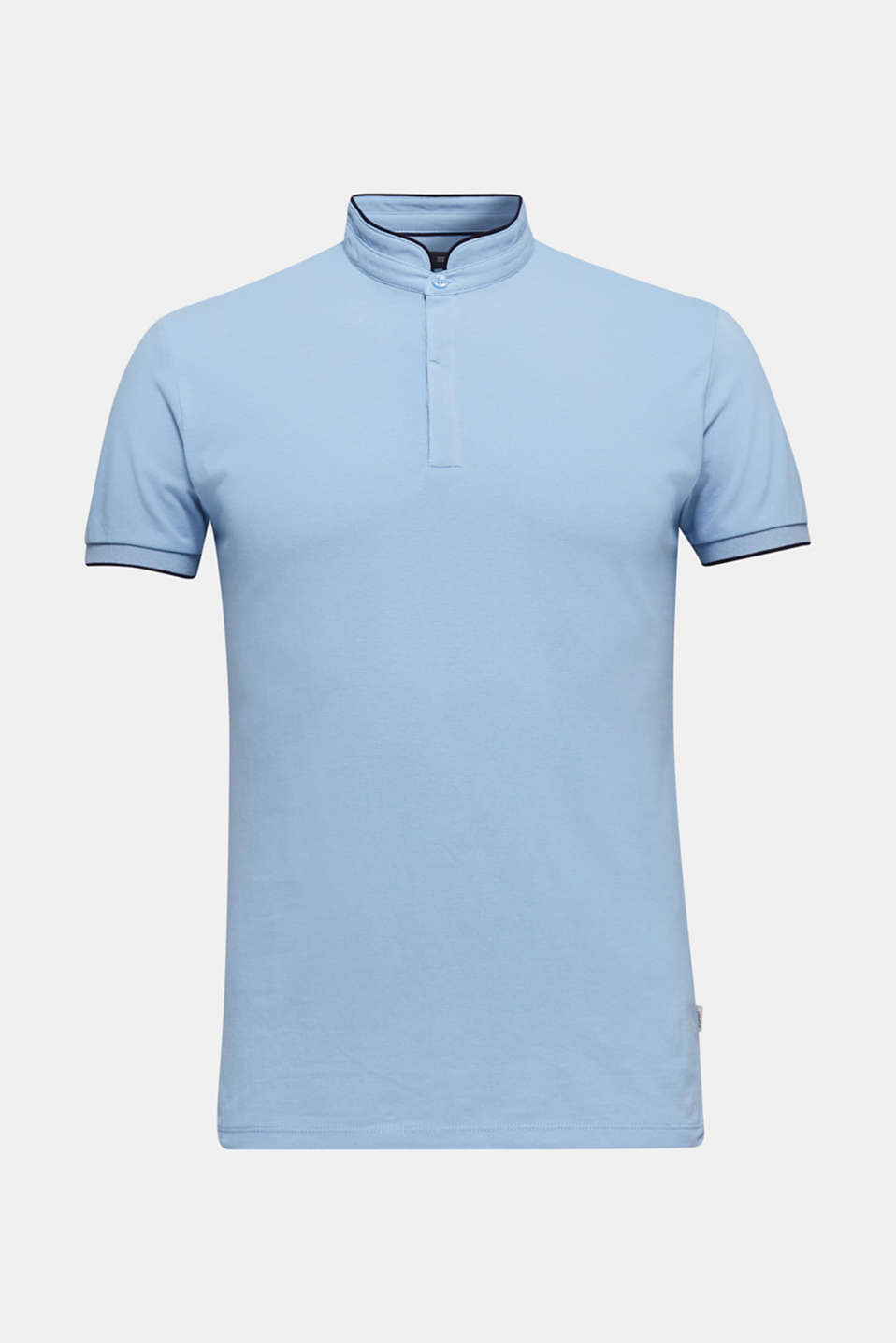 Piqué polo shirt with COOLMAX®, LIGHT BLUE, detail image number 6