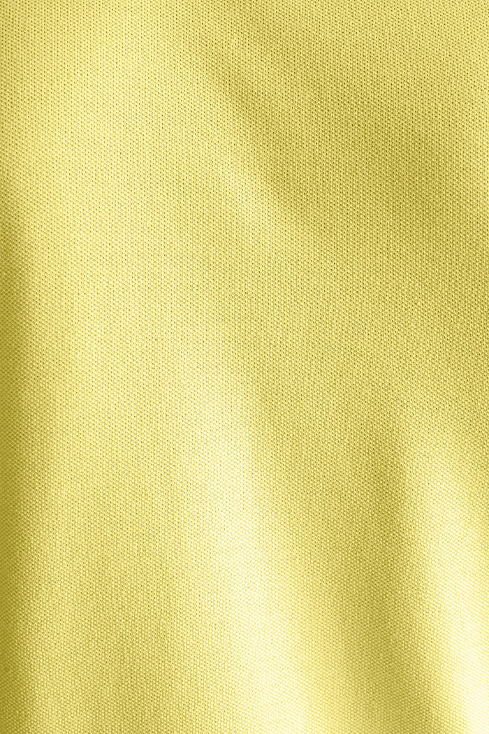 Piqué-Poloshirt mit COOLMAX®, LIGHT YELLOW, detail image number 5