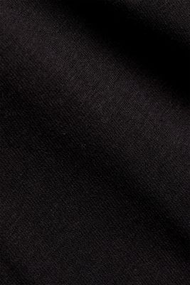 Jersey T-shirt with a pocket and COOLMAX®, BLACK, detail