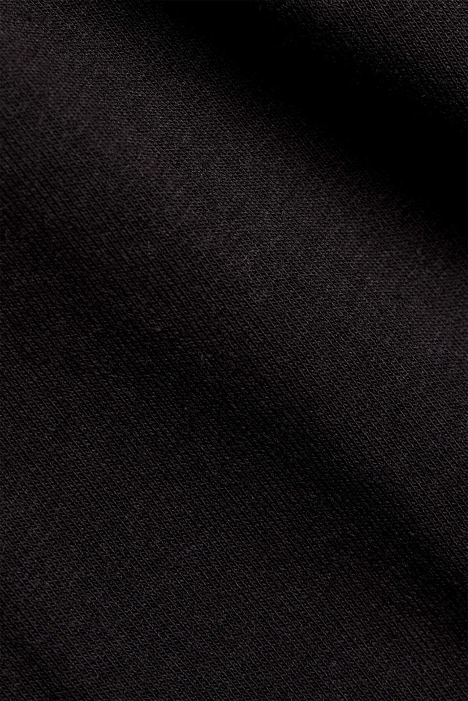 Jersey T-shirt with a pocket and COOLMAX®, BLACK, detail image number 4