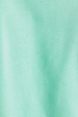 Jersey T-shirt with a pocket and COOLMAX®, LIGHT GREEN, detail