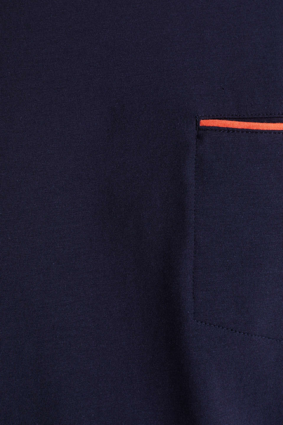 Jersey T-shirt with a pocket and COOLMAX®, NAVY, detail image number 4