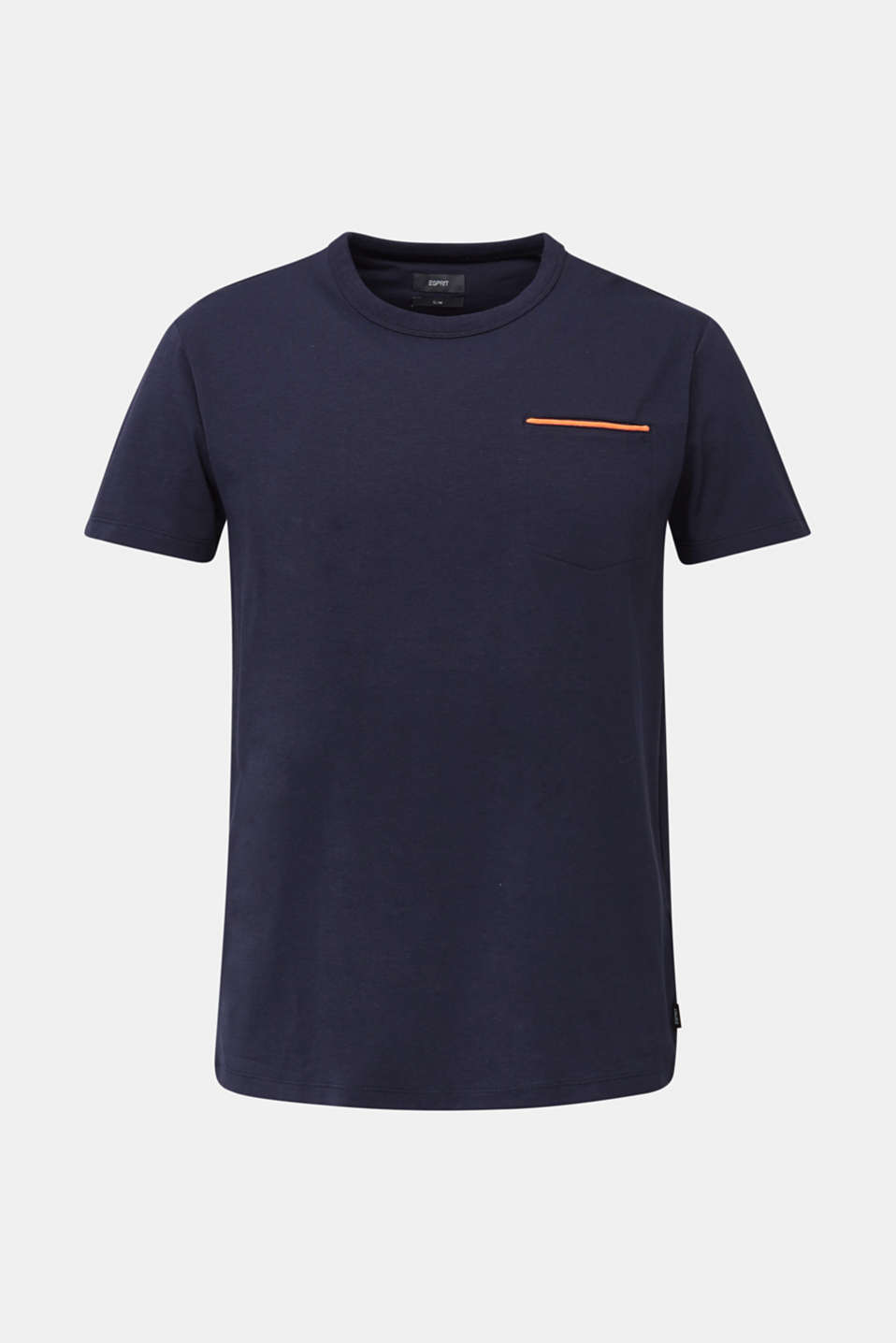 Jersey T-shirt with a pocket and COOLMAX®, NAVY, detail image number 5
