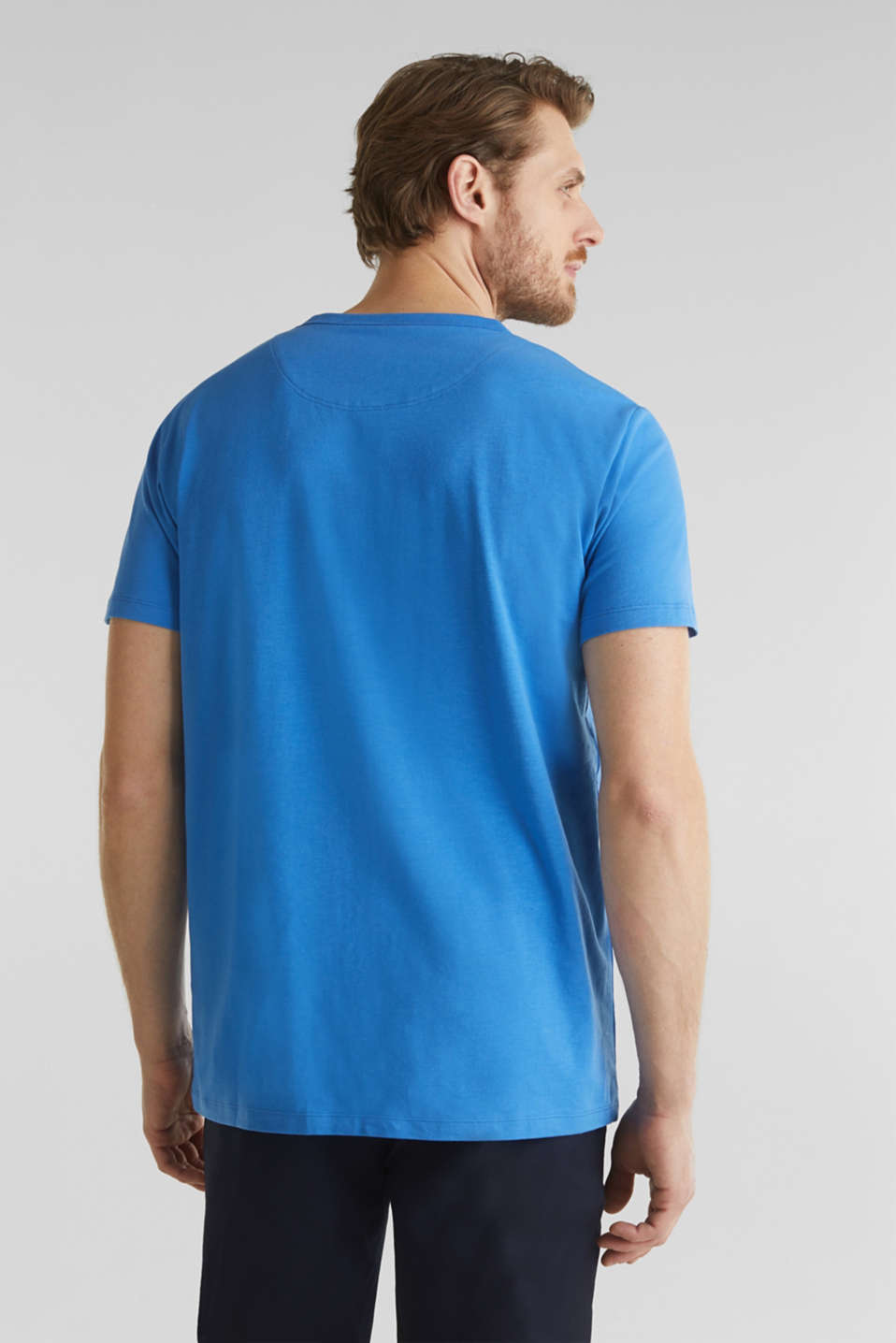 Jersey T-shirt with a pocket and COOLMAX®, BLUE 2, detail image number 3