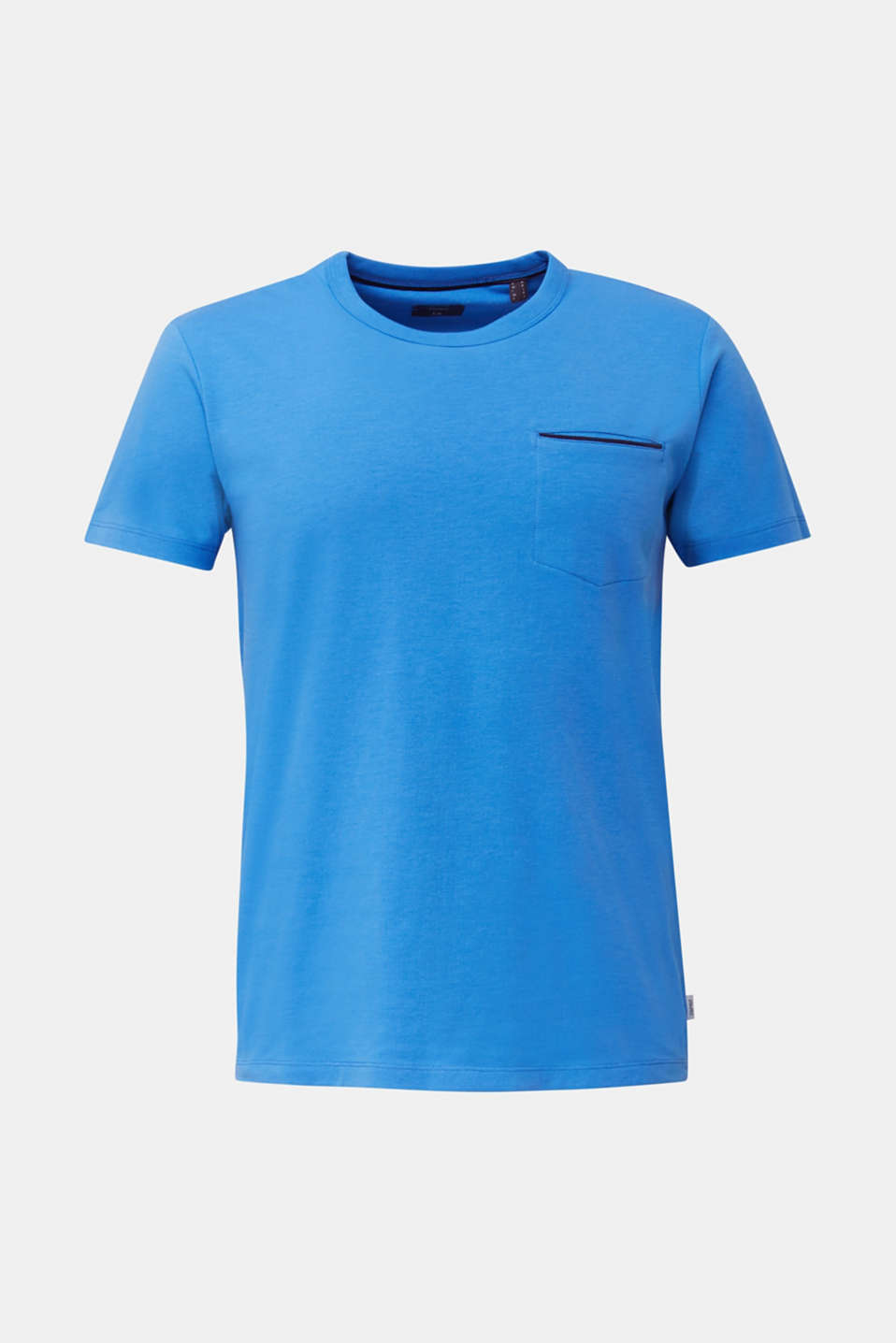 Jersey T-shirt with a pocket and COOLMAX®, BLUE 2, detail image number 7
