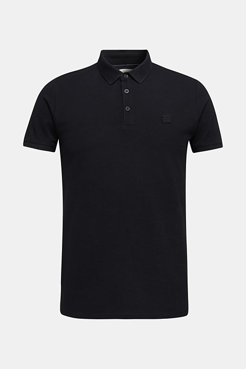 Piqué polo shirt made of 100% pima cotton