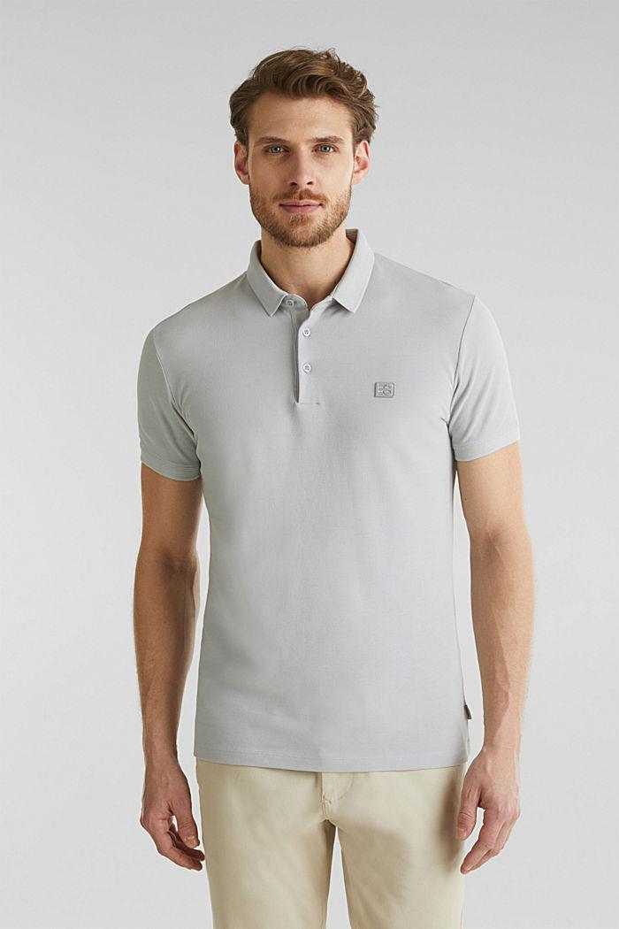 Piqué-Poloshirt aus 100% Pima Cotton