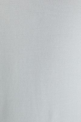 Piqué polo shirt made of 100% pima cotton, LIGHT GREY, detail