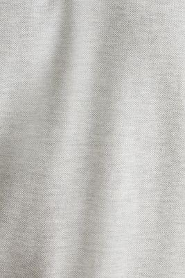 Piqué polo shirt made of 100% pima cotton, LIGHT GREY 5, detail