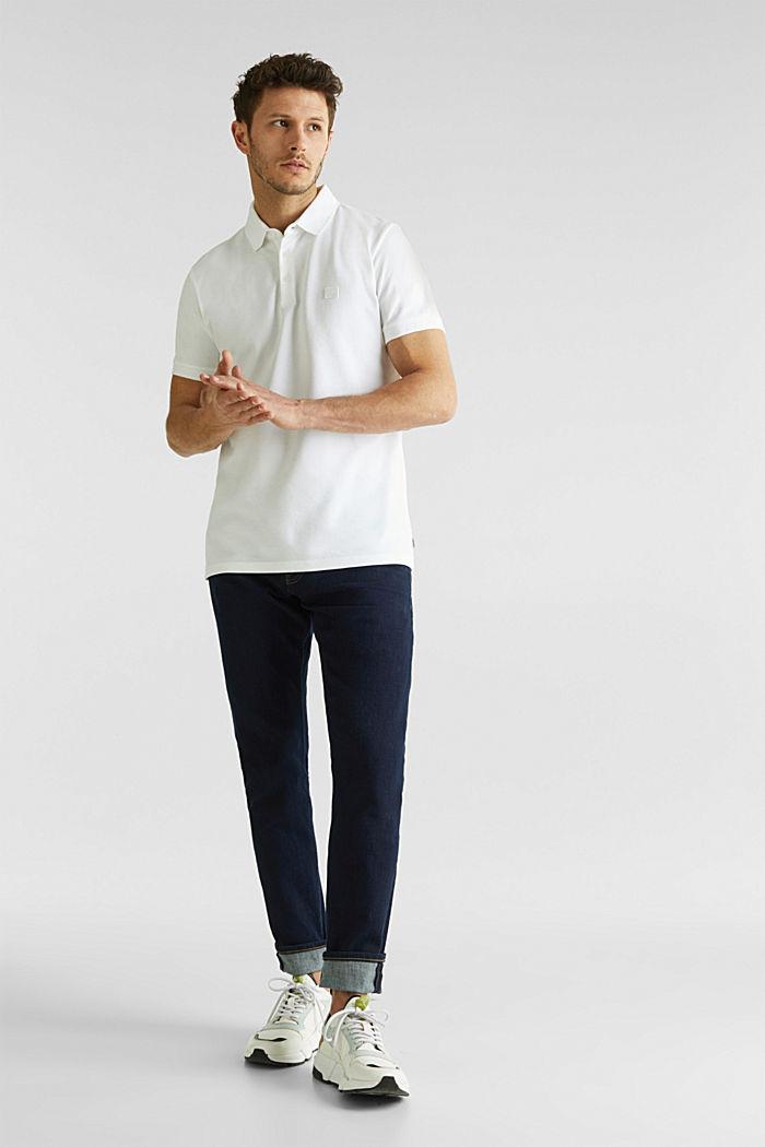 Piqué-Poloshirt aus 100% Pima Cotton, WHITE, detail image number 2