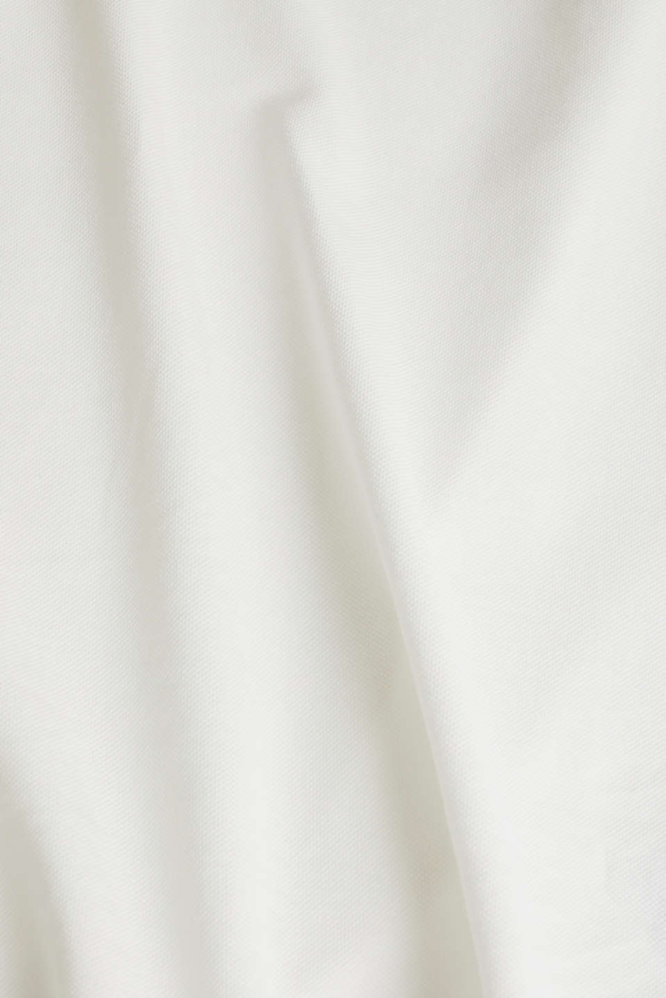 Piqué polo shirt made of 100% pima cotton, OFF WHITE, detail image number 4