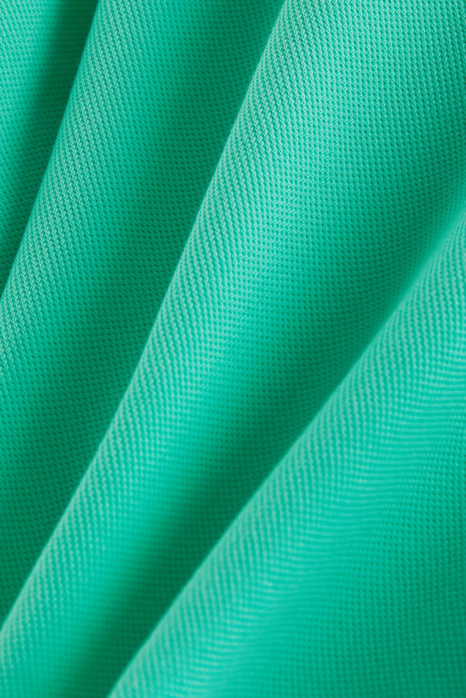 Piqué polo shirt made of 100% pima cotton, LIGHT GREEN, detail image number 4