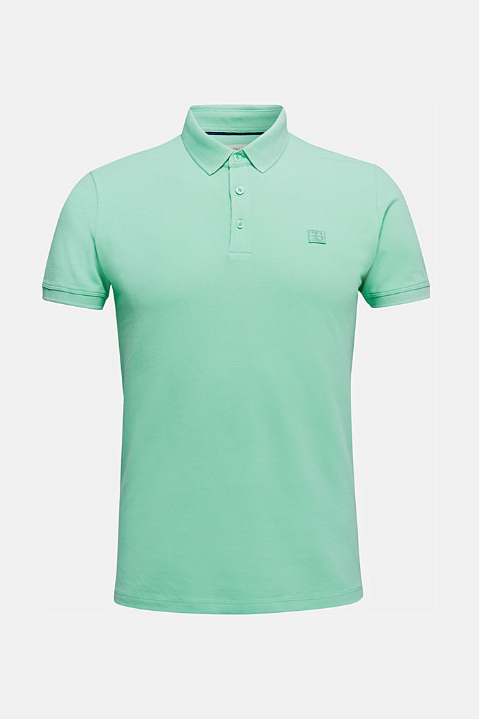 Piqué polo shirt made of 100% pima cotton, LIGHT GREEN, detail image number 5