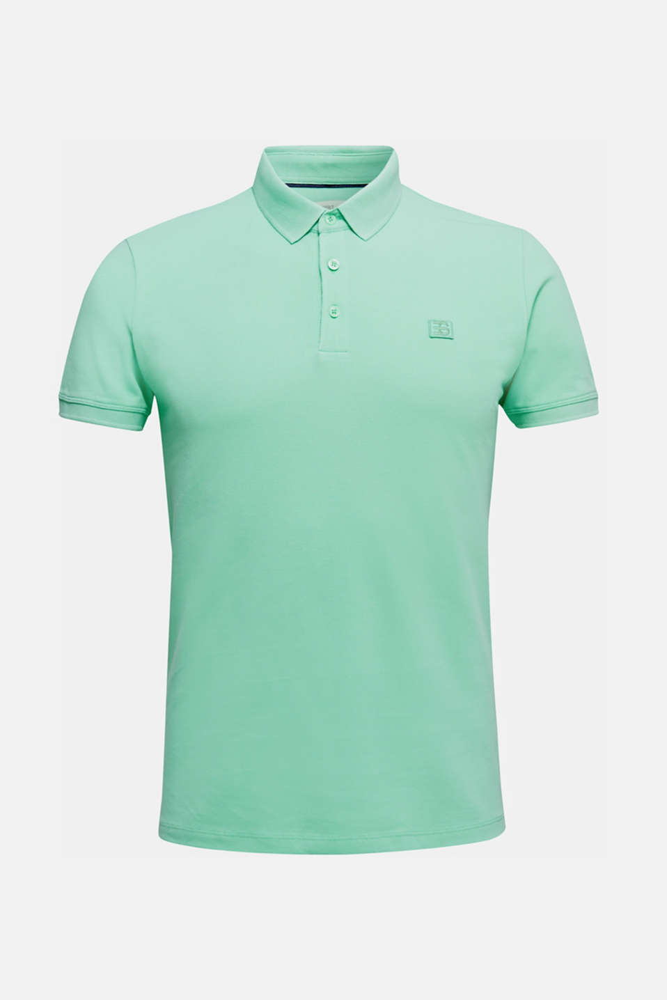Piqué polo shirt made of 100% pima cotton, LIGHT GREEN, detail image number 6