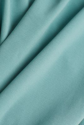 Piqué polo shirt made of 100% pima cotton, TEAL GREEN, detail