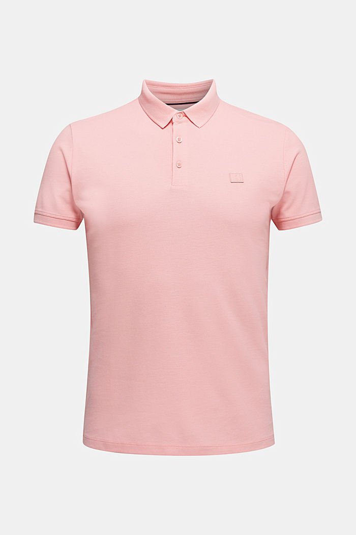 Piqué polo shirt made of 100% pima cotton, LIGHT PINK, detail image number 6