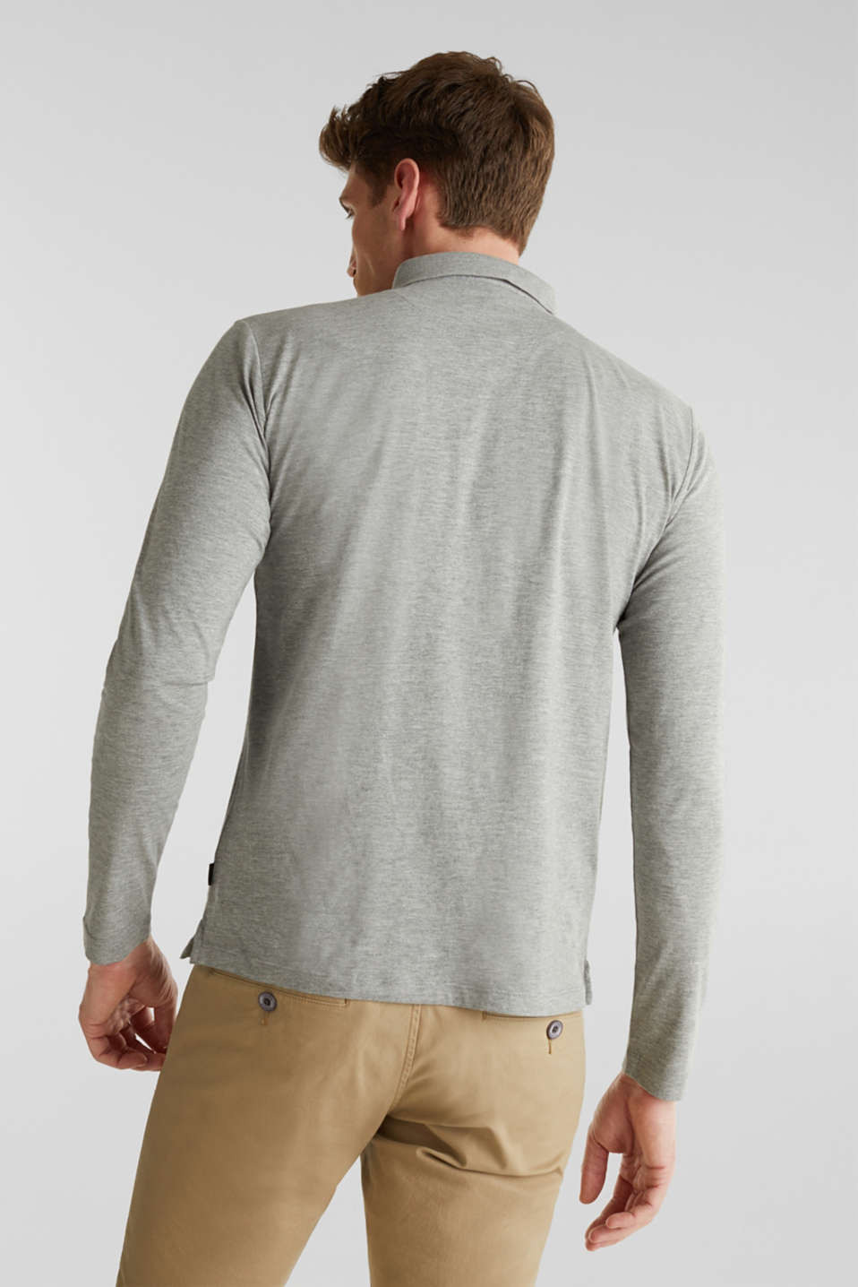 Polo shirts, MEDIUM GREY 5, detail image number 3