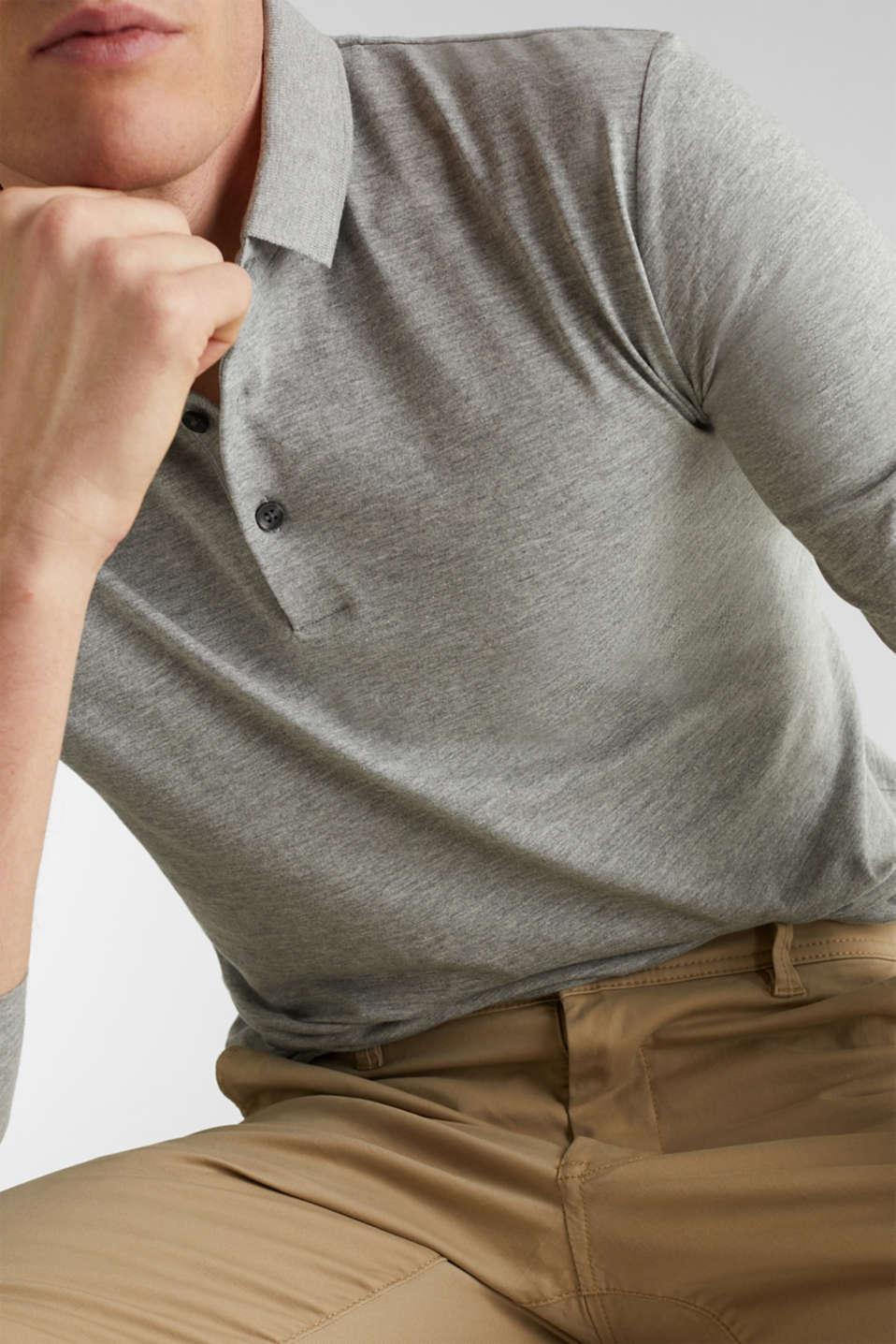 Polo shirts, MEDIUM GREY 5, detail image number 1