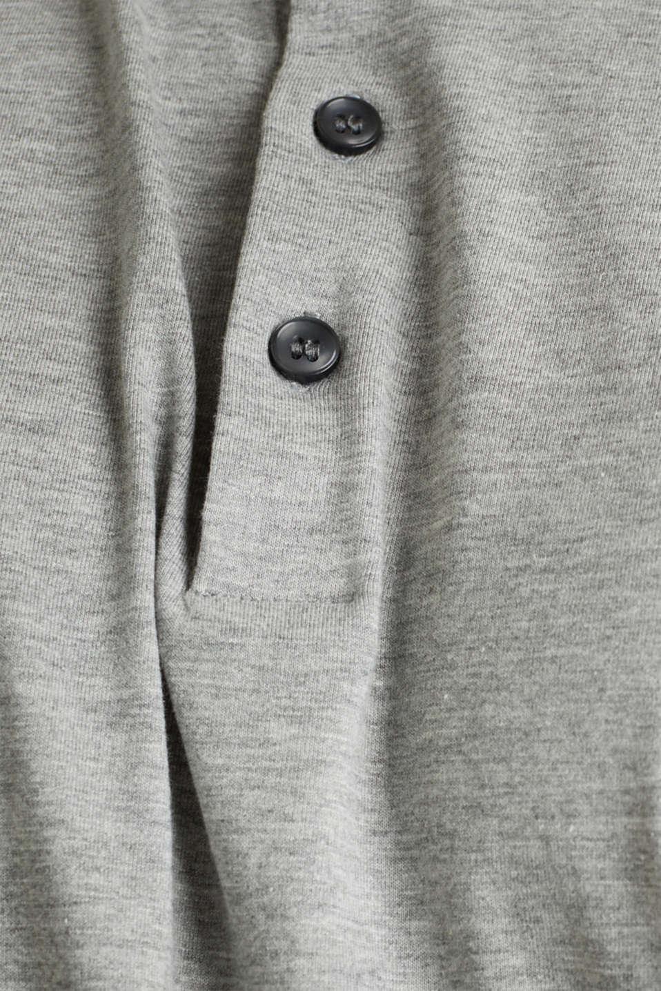 Polo shirts, MEDIUM GREY 5, detail image number 5