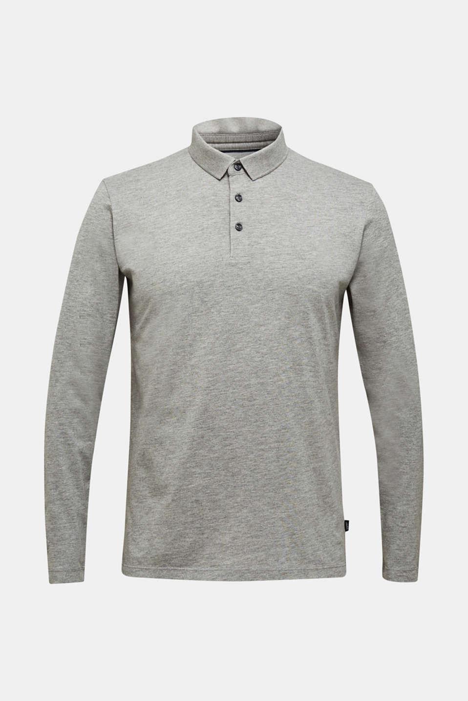 Polo shirts, MEDIUM GREY 5, detail image number 7