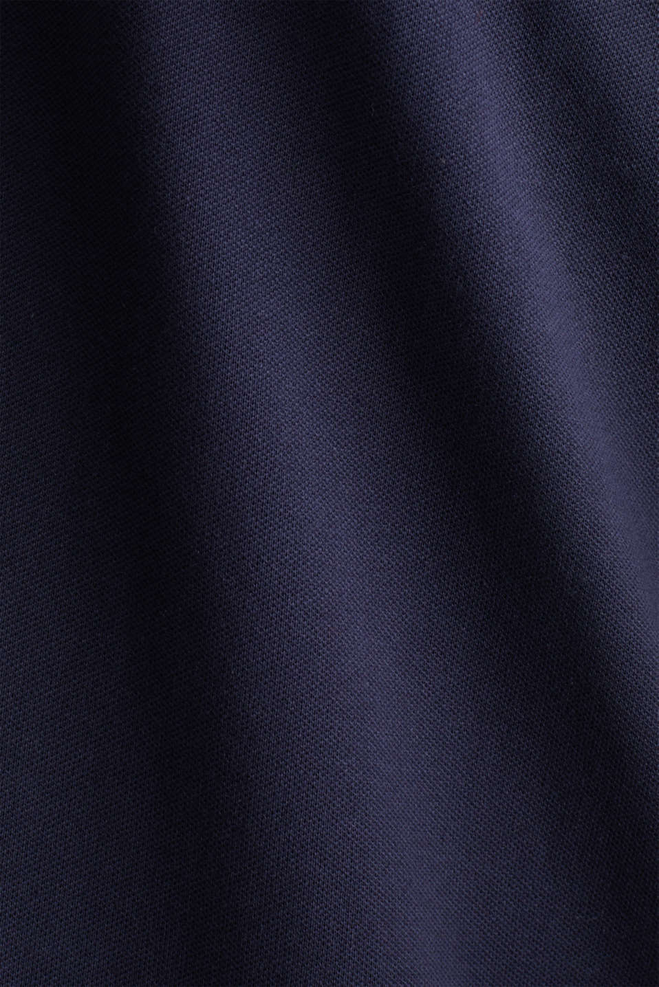 Piqué polo shirt in 100% cotton, NAVY 2, detail image number 4