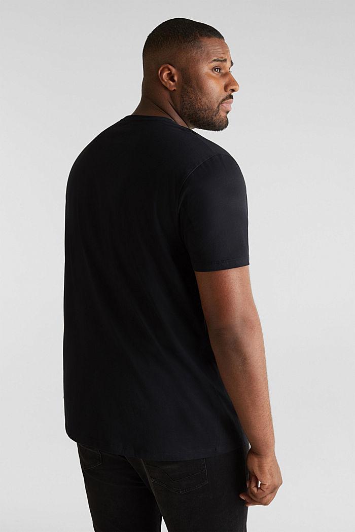 2er-Pack Jersey-Shirts aus 100% Baumwolle, BLACK, detail image number 2