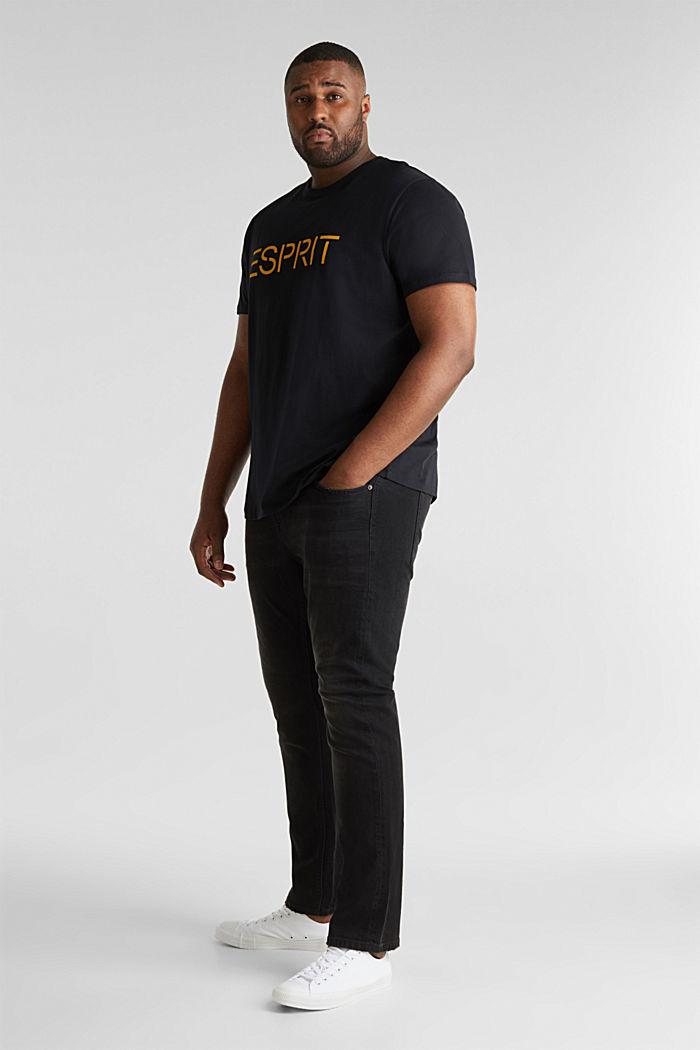 2er-Pack Jersey-Shirts aus 100% Baumwolle, BLACK, detail image number 1
