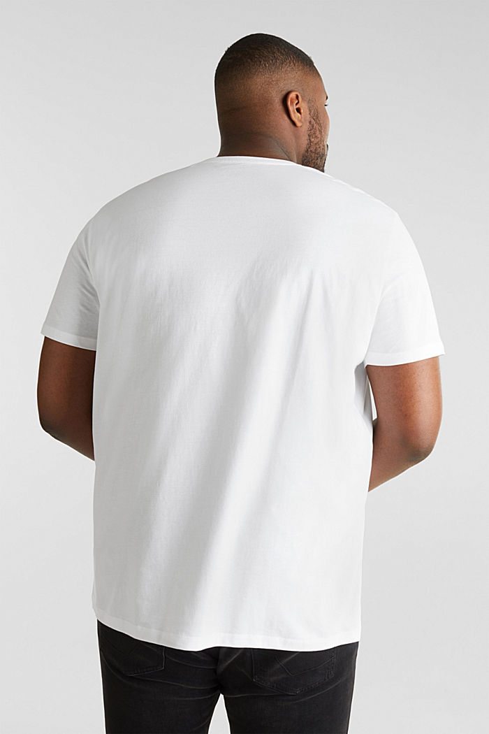 2er-Pack Jersey-Shirts aus 100% Baumwolle, WHITE, detail image number 2