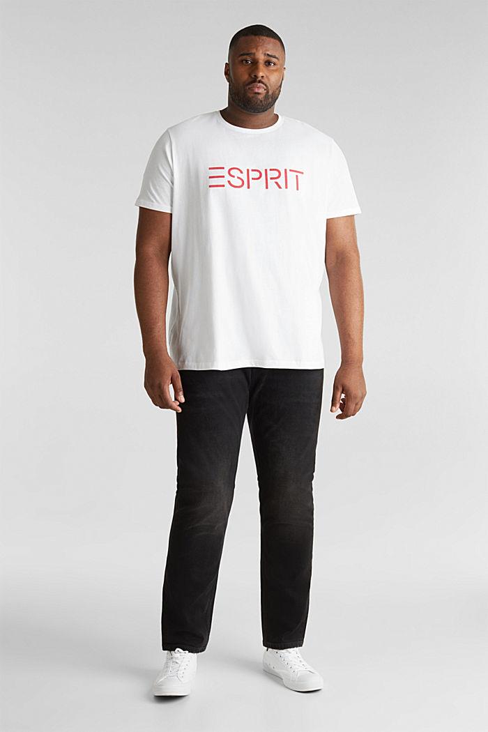 2er-Pack Jersey-Shirts aus 100% Baumwolle, WHITE, detail image number 1