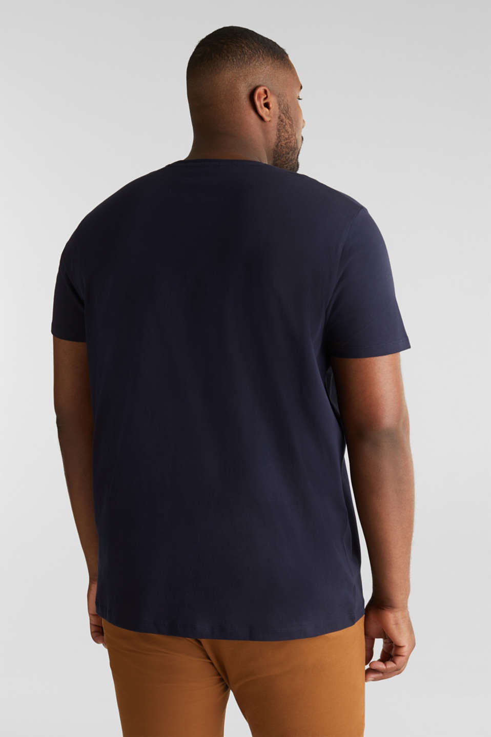 Double pack of jersey T-shirts in 100% cotton, NAVY, detail image number 2