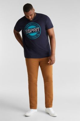 Double pack of jersey T-shirts in 100% cotton, NAVY, detail