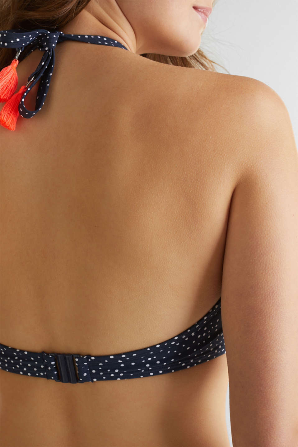 Padded bandeau top for large cup sizes, NAVY 2, detail image number 5