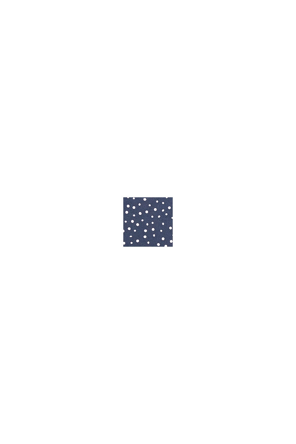 Top lungo imbottito per coppe grandi, NAVY, swatch