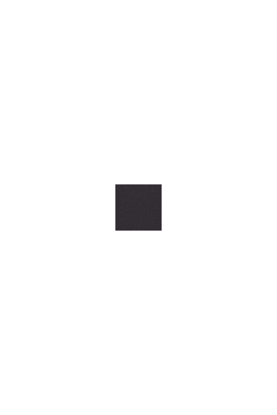 Shaping-Badeanzug im Color-Block-Look, BLACK, swatch