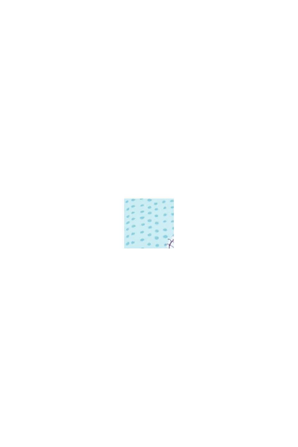 Polstret bandeau-top til store skålstørrelser, TURQUOISE, swatch