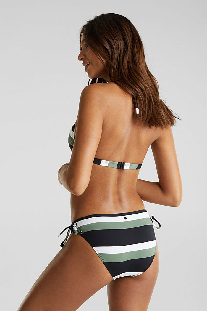 Mini briefs with block stripes, LIGHT KHAKI, detail image number 2