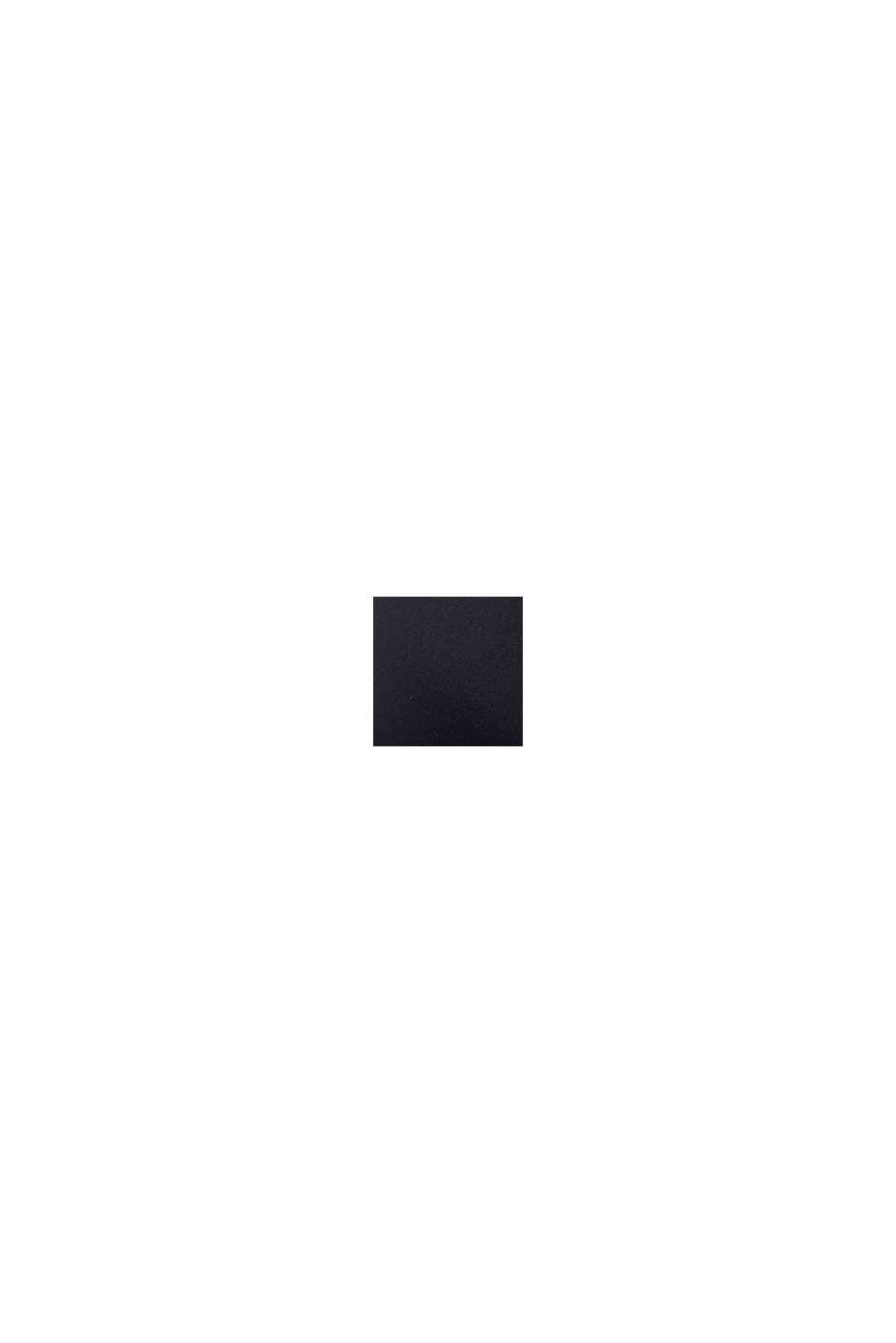 Push-up-Top mit Flecht-Details, BLACK, swatch