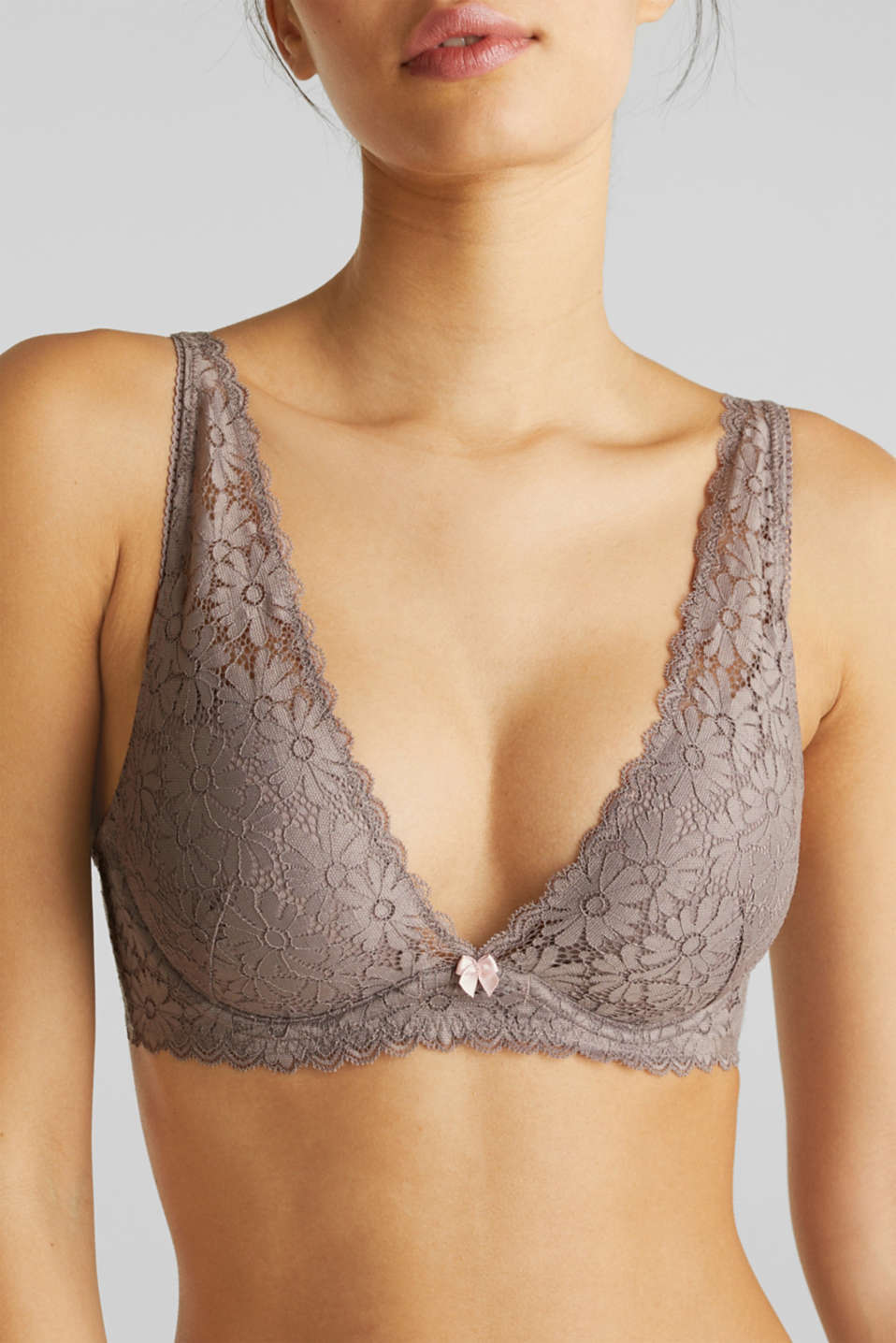 Underwire bra, LIGHT TAUPE, detail image number 2
