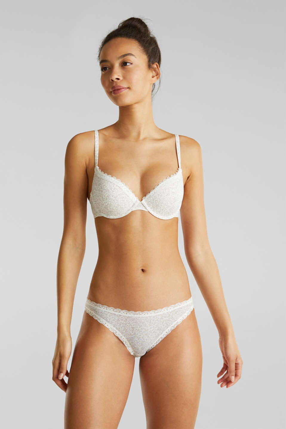 Push-up bra with multi-way straps , OFF WHITE, detail image number 0