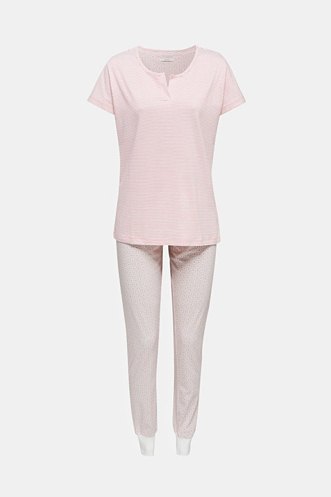 Jersey pyjamas in 100% cotton