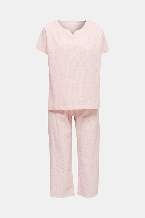 Woven pyjamas made of 100% cotton