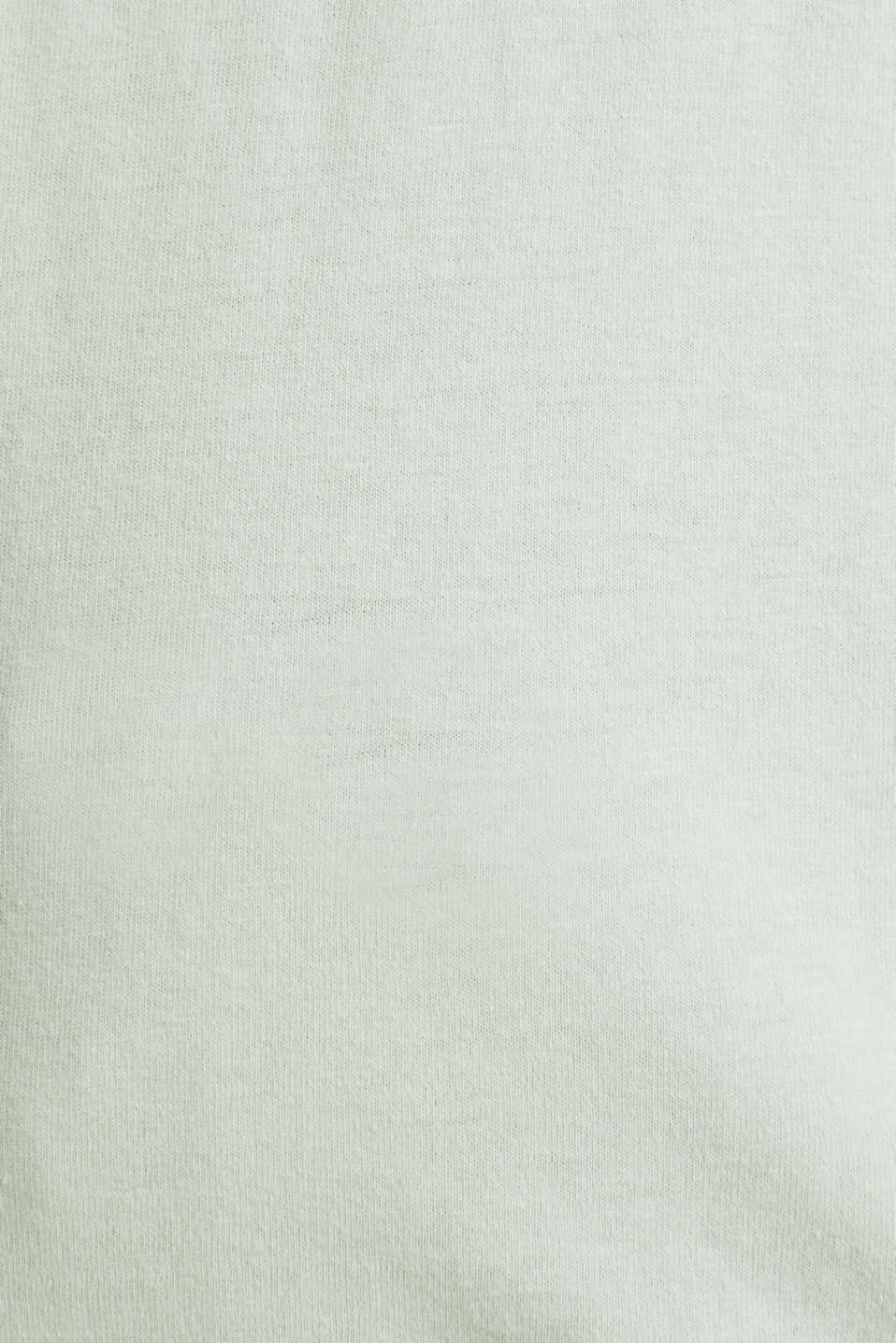 Jersey pyjamas in 100% cotton, LIGHT AQUA GREEN, detail image number 3
