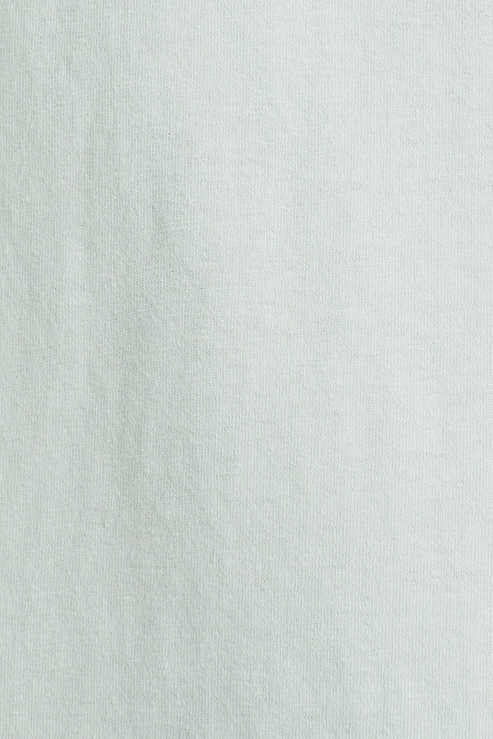 Jersey-Nachthemd, 100% Baumwolle, LIGHT AQUA GREEN, detail image number 3