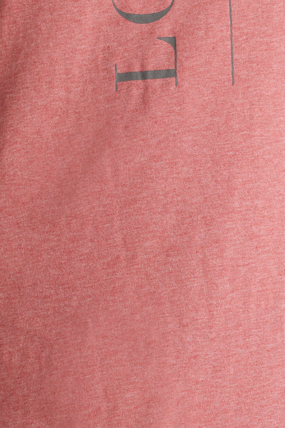 Jersey nightshirt with a flared skirt, CORAL RED, detail image number 3