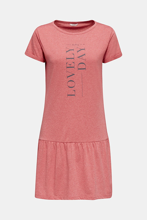 Jersey nightshirt with a flared skirt
