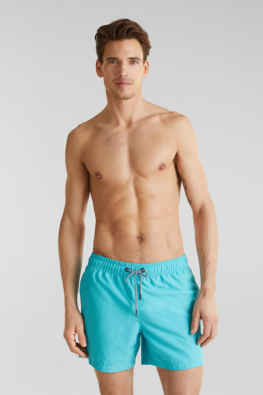 Swim shorts with print details