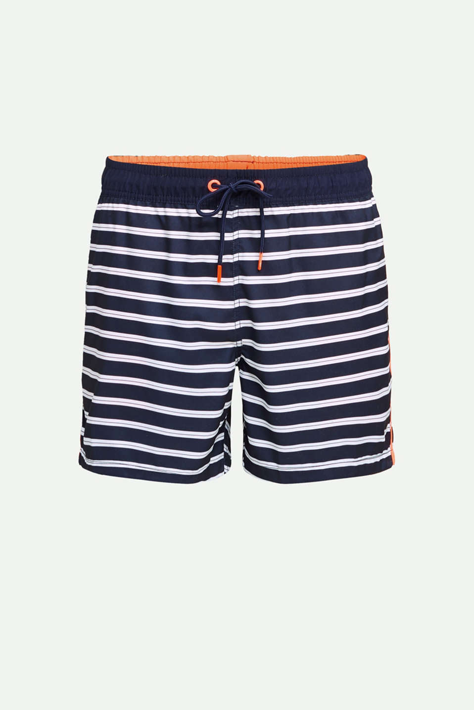 Swim shorts with stripes, NAVY 2, detail image number 3