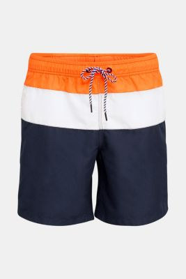 Colour block swim shorts, NAVY 2, detail