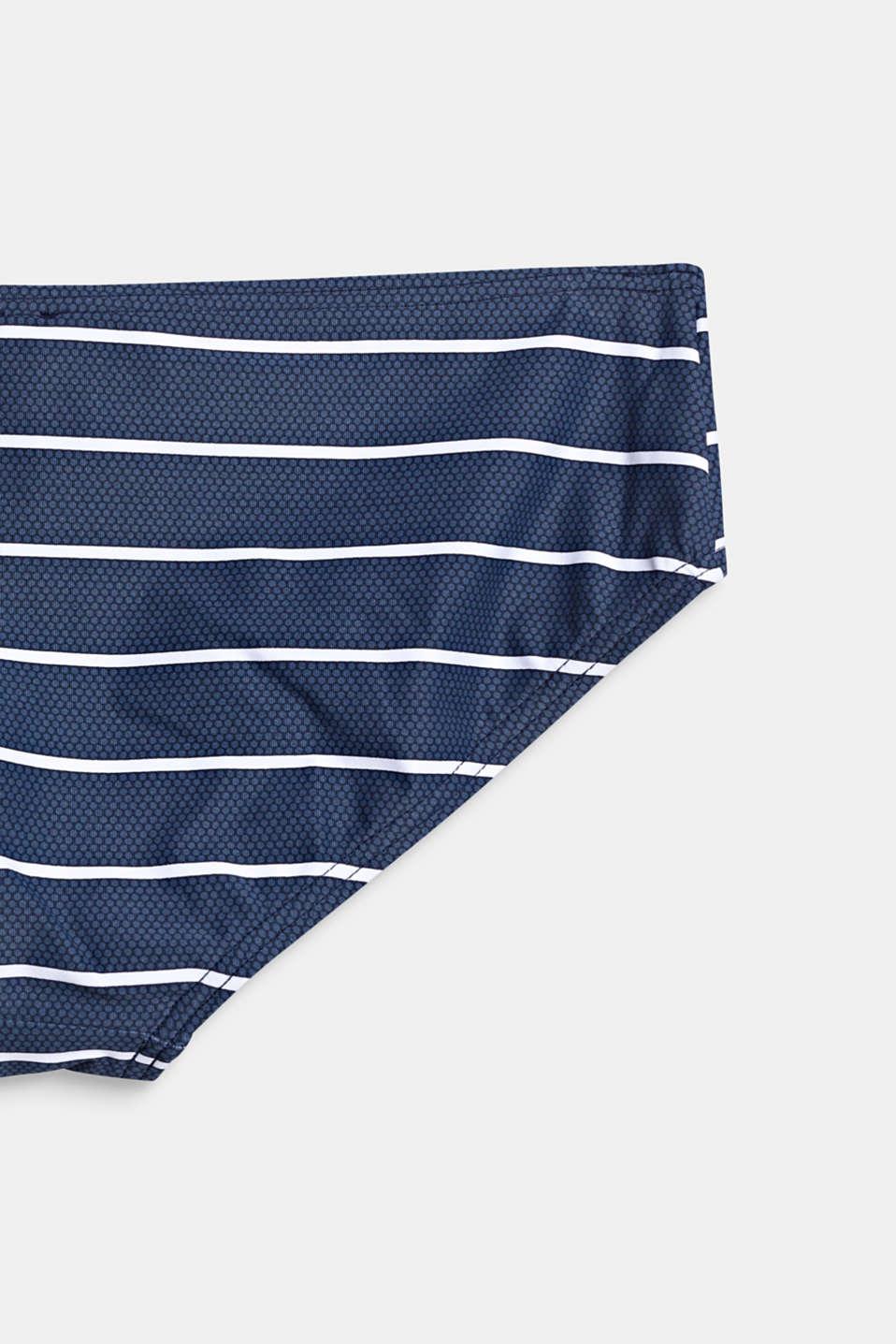 Halterneck bikini set with light padding, DARK BLUE, detail image number 2