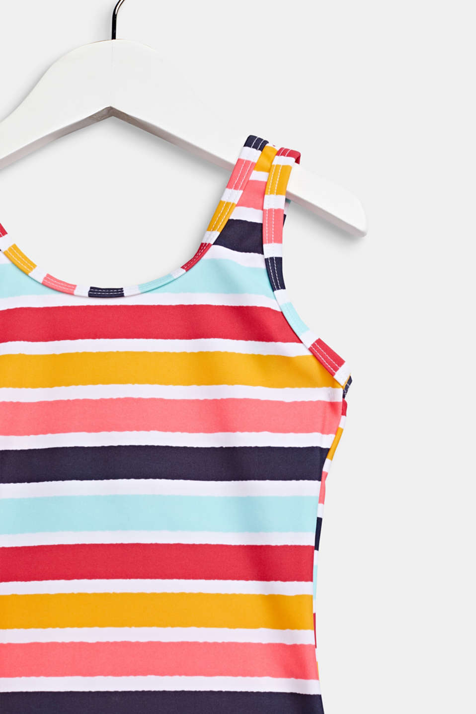 Colourfully striped swimsuit, SUNFLOWER YELLOW, detail image number 2